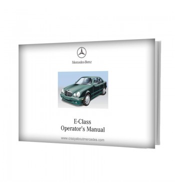 Mercedes Benz E-Class Operator's Manual W210
