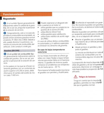Manual Mercedes Benz Instrucciones de Servicio Clase E W211