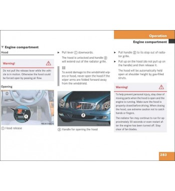 Mercedes Benz E-Class Sedan Operator's Manual W211