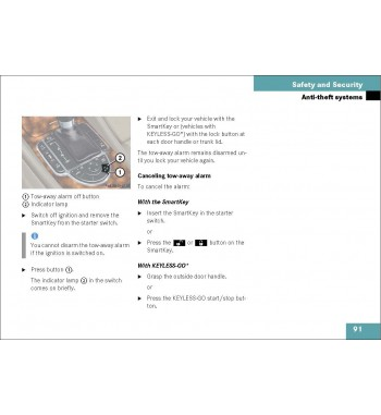 Mercedes Benz Operator's Manual SL-Class R230