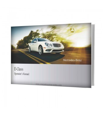 Mercedes Benz E-Class Operator's Manual W211