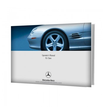 Mercedes Benz Operator's Manual SL-Class R230