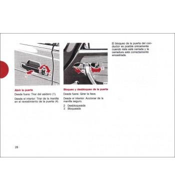 Mercedes Benz 300 SL Manual | Instrucciones de Servicio | W107