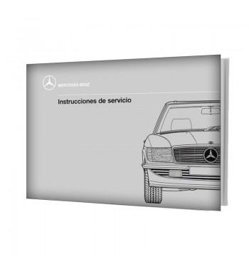 Manual Mercedes Benz 300 SL | Instrucciones de Servicio | W107