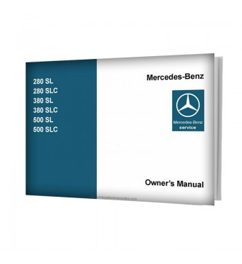 Mercedes Benz SL-SLC Owner's Manual R107