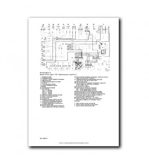Manual Mercedes Benz 380 SL | Instrucciones de Servicio | W107