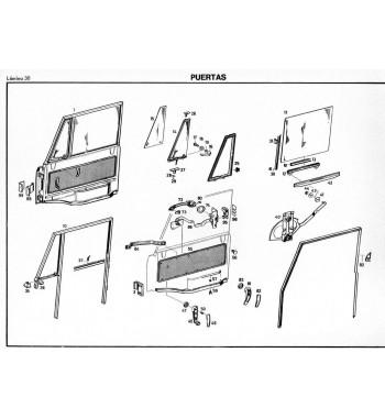 Manual Mercedes Benz UNIMOG Tipo 426 | Catálogo de Repuestos de Chasis y Carrocería