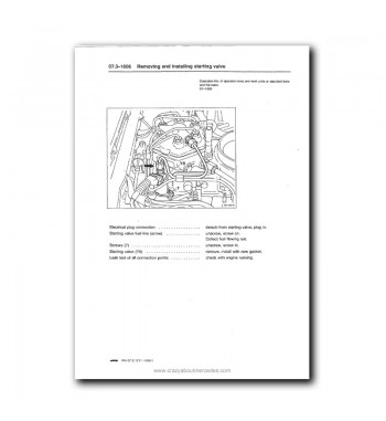 Mercedes Benz Service Manual Engine 104