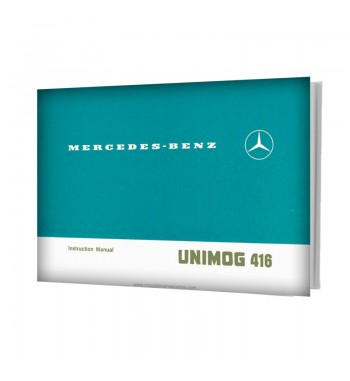 Mercedes Benz UNIMOG U416 Instruction Manual