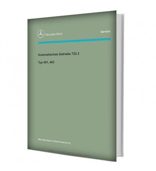 Mercedes Benz Automatisches Getriebe 722.3 | Typ 461, 463