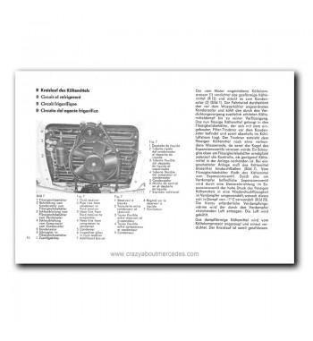 Acondicionador de Aire Mercedes Benz 280 S, 280 SE Limousine, 300 SEL, 300 SEL 6.3