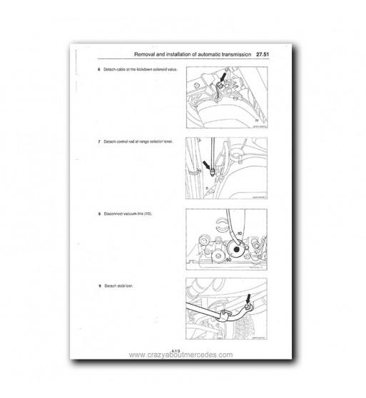 Manual Mercedes Benz 500 SL | Instrucciones de Servicio | W107