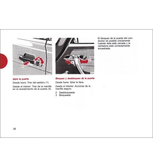 Mercedes Benz 300 D Manual   Owner's Manual   W115