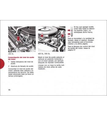 Mercedes Benz 280 S Manual | Instrucciones de Servicio | W116