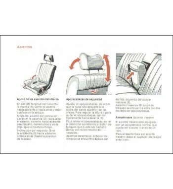 Manual Mercedes Benz 280 SEL   Instrucciones de Servicio   W116
