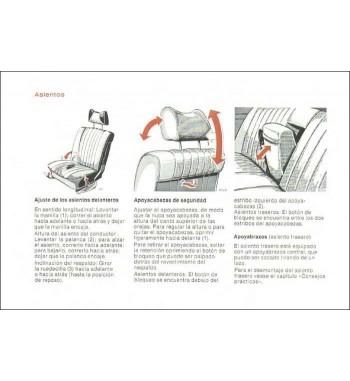 Manual Mercedes Benz 450 SE   Instrucciones de Servicio   W116