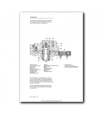 Mercedes Benz Service Manual V-8 Engine M 116.96 (3.8) & M 117.96 (5.0)