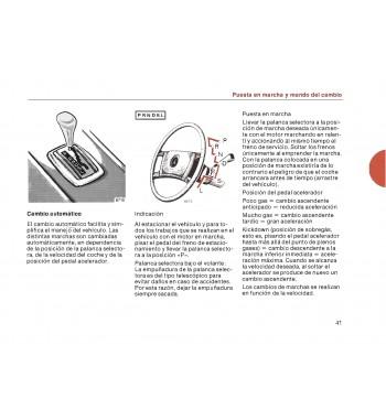Mercedes Benz 280 Manual | Instrucciones de Servicio | W123