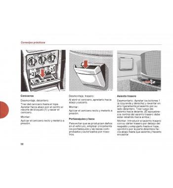 Mercedes Benz 280 C Manual | Instrucciones de Servicio | W123