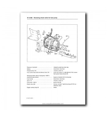 Mercedes Benz Service Manual V-8 Engines M 116.96 (4.2-ltr.), M 117.96 (5.6-ltr.)