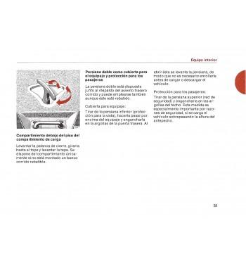 Mercedes Benz 230 T Manual | Instrucciones de Servicio | W123