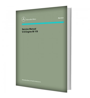 Mercedes Benz Service Manual V-8 Engine M 119