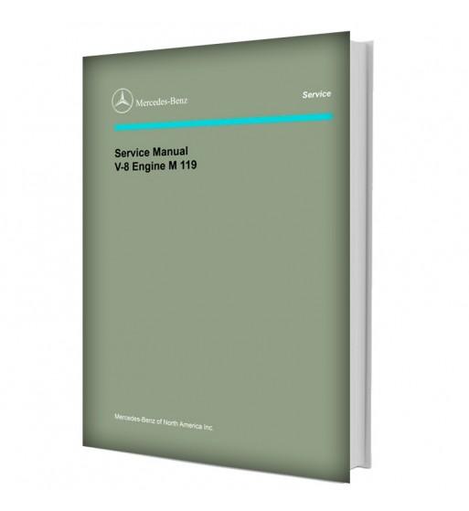 Mercedes Benz Service Manual V-8 Engine M 119
