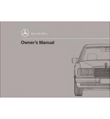 Manual Mercedes Benz 300 CE | Owner's Manual | W124