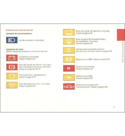 Mercedes Benz ML 500 Manual | Instrucciones de Servicio Clase M | W163