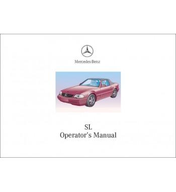 Mercedes Benz SL 500 Manual | SL Operator's Manual | R129.