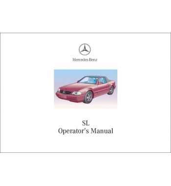 Manual Mercedes Benz SL 600 | SL Operator's Manual | R129.