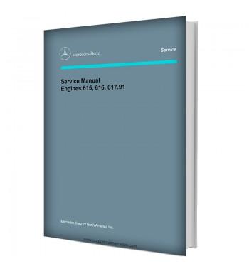 Mercedes Benz Service Manual Engines 615, 616, 617.91