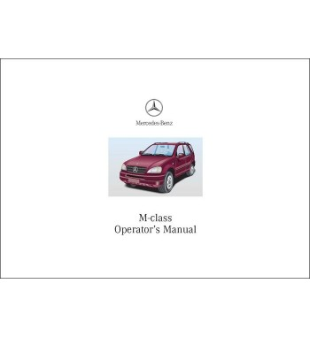 Manual Mercedes Benz ML 55 AMG | Operator's Manual M-Class