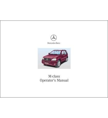 Mercedes Benz ML 55 AMG Manual   Operator's Manual M-Class   W163
