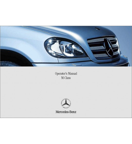 Mercedes Benz SLK 320 Manual | Operator's Manual SLK | W170