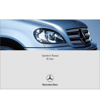 Mercedes Benz SLK 230 Kompressor Manual | SLK-Class Operator's Manual | W170
