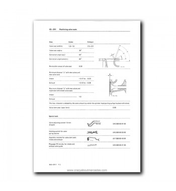 Mercedes Benz Service Manual Engine 617.95 Turbo Diesel