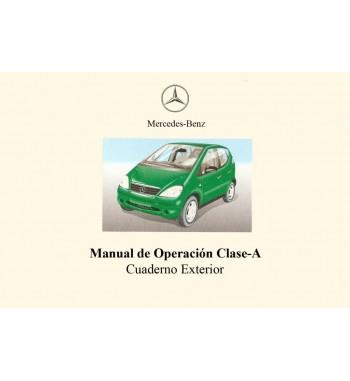 Mercedes Benz A 160 Manual   Manual de Operación Clase A   W168