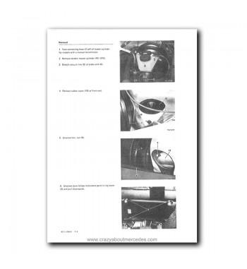 Mercedes Benz Model 123 Service Manual Library   Disc 1