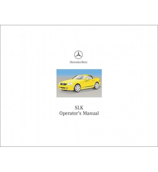 Mercedes Benz C 320 Sport Manual | Owner's Manual C-Class | W203