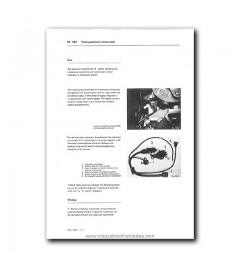Mercedes Benz Model 124 Service Manual Library | Disc 1