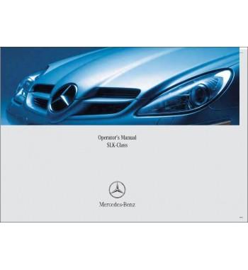 Mercedes Benz SLK 350 Manual   Operator's Manual SLK-Class   W171