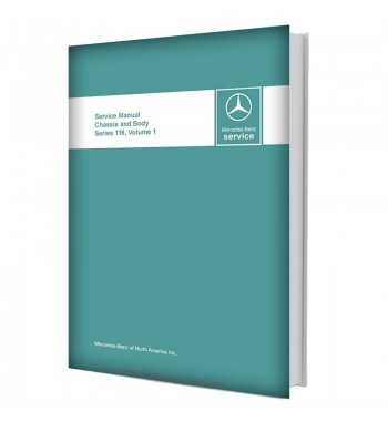 Mercedes Benz Service Manual Chassis & Body Series 116 Volume 1