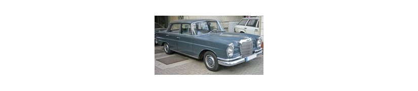 Manuales Mercedes Benz Clase S Serie W111 | PDF