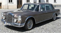 Mercedes Benz 600 W100 Series (1963-1981)