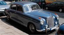 Mercedes Benz S-Class W105 Series (1956-1959)