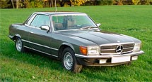 Mercedes Benz SLC-Class C107 Series (1972-1981)