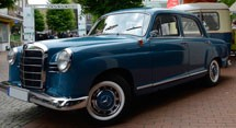 Mercedes Benz E-Class W120 Series (1953-1962)