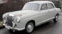 Mercedes Benz E-Class W121 Series (1956-1961)