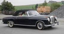 Mercedes Benz S-Class W128 Series (1958-1961)